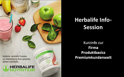 Herbalife-Infosession 22.03.21